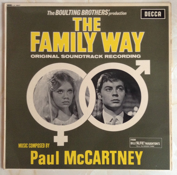 Paul McCartney / Soundtrack - The Family Way - New Vinyl 2015 RSD Pressing Limited to 5700 Copies