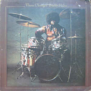 Buddy Miles ‎– Them Changes - VG+ 1970 Mercury Stereo USA Original Press - Rock