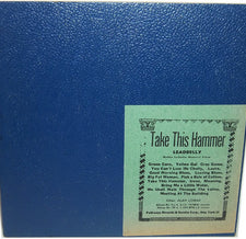 Leadbelly / Huddie Ledbetter - Take This Hammer - New Vinyl 2015 DOL EU 180gram Reissue - Blues / Folk