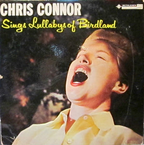 Chris Connor - Lullabys of Birdland - VG Mono 1957 Bethlehem Records USA Jazz - B4-009