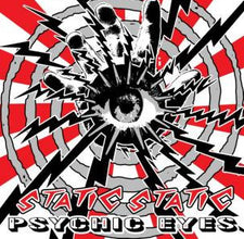 Static Static - Psychic Eyes - New Vinyl - 2009 Tic Tac Totally! (Chicago Label) Repress - Noise / Punk