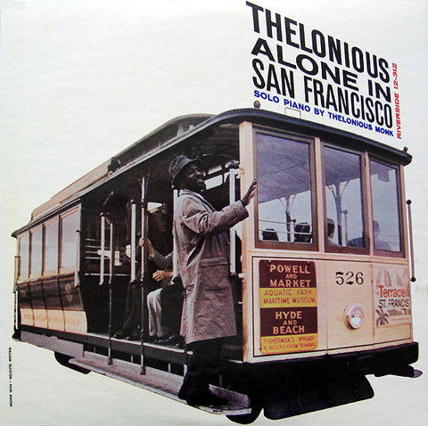 Thelonious Monk - Alone in San Francisco (Unaccompanied piano solos recorded in 1959)  - New Vinyl - 180 Gram 2015 DOL Import - Jazz
