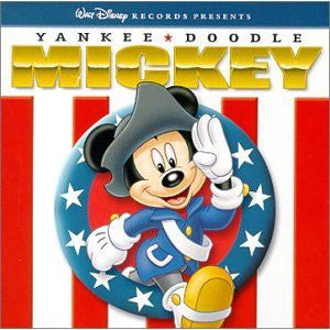 Walt Disney Various – Yankee Doodle Mickey - Mint- 1980 Stereo USA - Children's