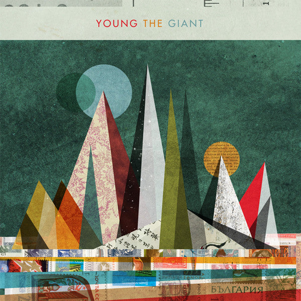 Young The Giant ‎– Young The Giant - New 2 Lp Record 2010 Roadrunner USA Vinyl & Download- Alternative Rock / Indie