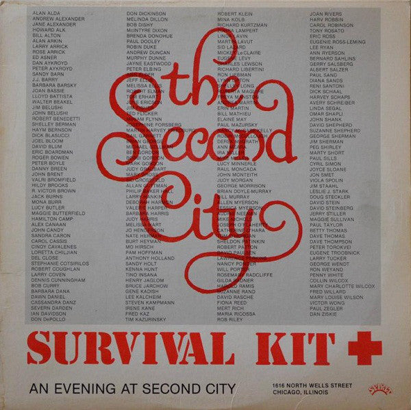 Various – The Second City Survival Kit - Mint- 1982 Stereo USA - CHICAGO COMEDY