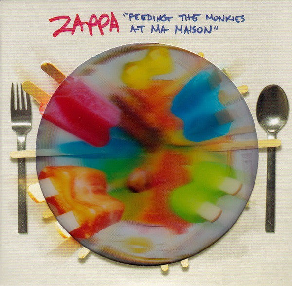 Frank Zappa - Feeding The Monkies at Ma Maison - New Vinyl Record 2015 Record Store Day Black Friday Colored Vinyl Limited to 2500 Copies - Psych / Prog Rock