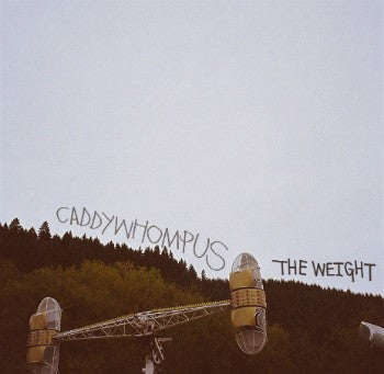 Caddywhompus - The Weight - New Vinyl 2016 Community Records 45 RPM EP on 180gram Black Vinyl - Math Rock / Prog