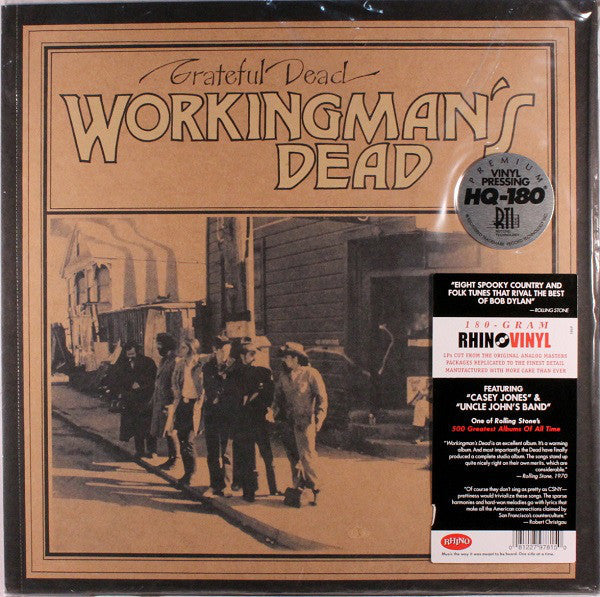 Grateful Dead - Workingman's Dead  - New Vinyl 2011 Rhino Records 180gram Reissue from Original Masters - Rock / Jam Band