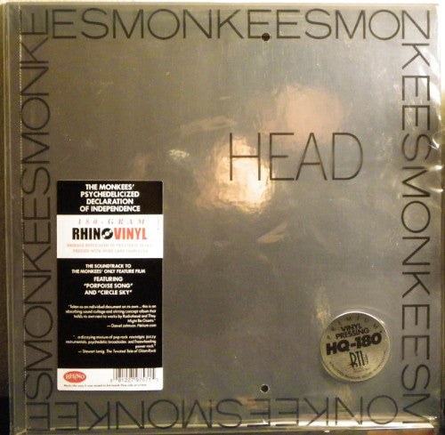 The Monkees ‎– Head (1968) - New Vinyl 2011 Press 180 gram FOIL COVER  - Rock, Psychedelic Rock