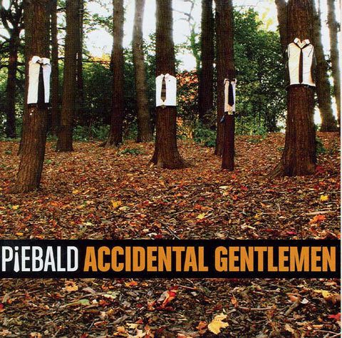 Piebald - Accidental Gentlemen - - New Vinyl Record 2016 SRC Limited Edition Reissue LP on Translucent Orange Vinyl - Alt / Indie Rock / Emo