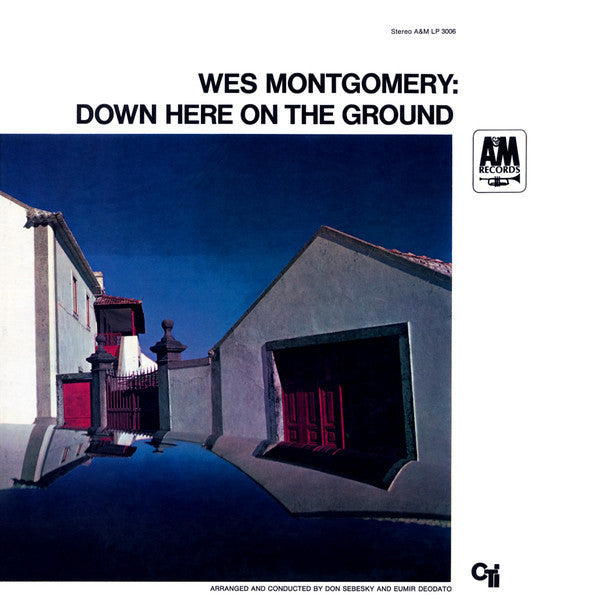 Wes Montgomery ‎– Down Here On The Ground (With Herbie Hancock, Grady Tate, Ron Carter) - VG+  Lp Record 1968 Stereo Original USA - Jazz