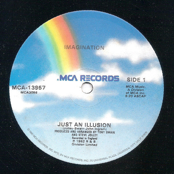 "Imagination ‎– Just An Illusion - VG+ 12"" Single USA 1982 - Disco"
