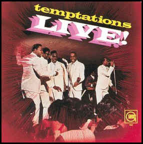 The Temptations ‎– Temptations Live! - VG+ Lp Record 1967 USA Original Mono Vinyl - Soul / R&B
