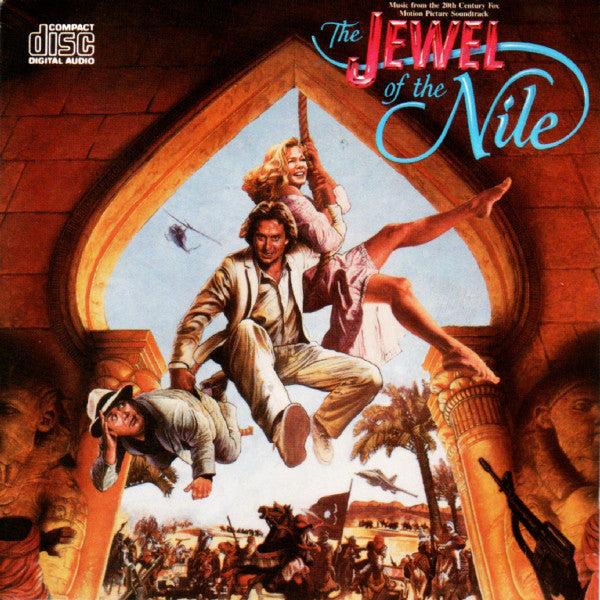 Various – The Jewel Of The Nile (Music From The Motion Picture) - VG+ 1985 Stereo USA - Soundtrack
