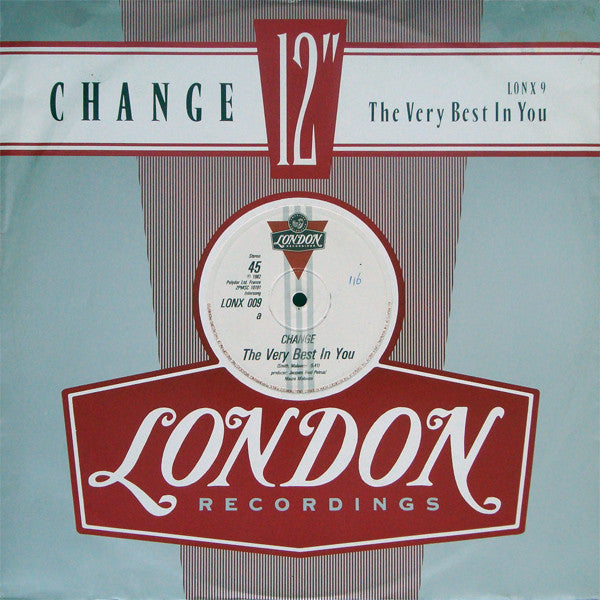 "Change – The Very Best In You - VG+ 12"" USA 1982 (Original Press PROMO) - Soul/Disco"