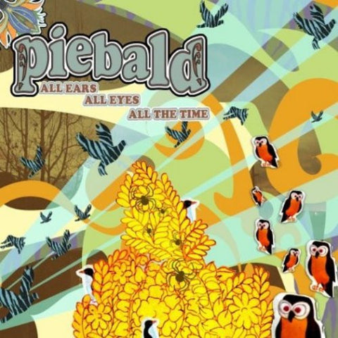 Piebald - All Ears All Eyes All the Time (2004) - New Lp Record 2013 SRC USA Coke Bottle Clear Vinyl - Alternative Rock / Emo / Post-Punk