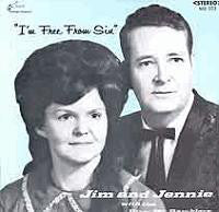 Jim & Jennie & The Dixie Mt. Ramblers ‎– I'm Free From Sin - New Sealed Vinyl (Vintage 1970) USA