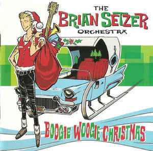 Brian Setzer Orchestra - Boogie Woogie Christmas - New Vinyl Record 2015 Indie Exclusive White Vinyl w/ Download - Rockabilly / Crimmus