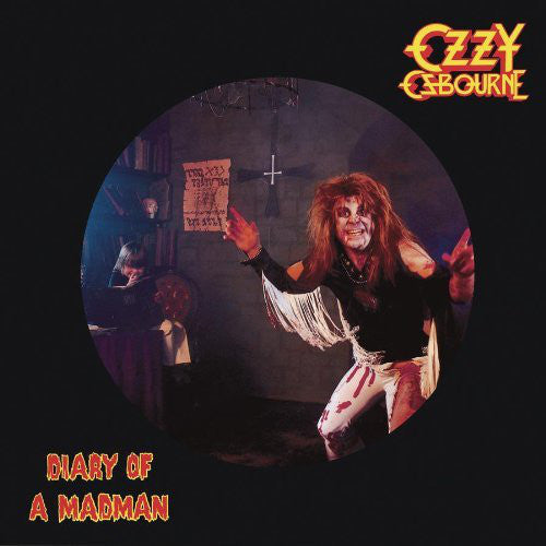 Ozzy Osbourne - Diary of a Madman - New Vinyl Lp 2011 Epic Picture Disc - Heavy Metal