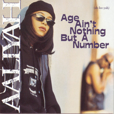 Aaliyah - Age Ain't Nothing But A Number - New Vinyl Record 2014 Black Friday RSD 2-LP 180gram White Vinyl Pressing - R&B/Rap/HipHop