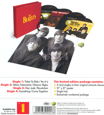 "The Beatles - The Beatles - New 4x 7"" Record Store Day Box Set 2012 Capitol/Apple RSD USA Vinyl - Rock & Roll"