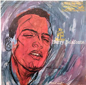 Harry Belafonte ‎– My Lord What A Mornin' - VG+ Lp Record 1960 RCA USA Mono - Folk / Gospel