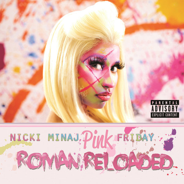 Nicki Minaj - Pink Friday: Roman Reloaded - New 2 LP Record 2012 Cash Money USA Vinyl - Hip Hop / Pop Rap