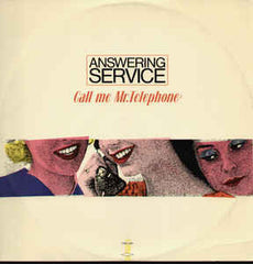 "Answering Service – Call Me Mr. Telephone - VG+ 12"" (Italy Import) 1984 - Italo-Disco"