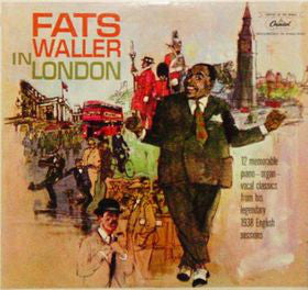 Fats Waller – Fats Waller In London - VG+ 1961 USA Mono (Original Press) - Jazz - B20-067
