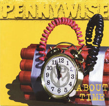 Pennywise - About Time - New Vinyl 2014 Limited Edition Reissue on Red Vinyl - Indie Exclusive - Punk