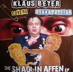 "Klaus Beyer Covers Osaka Popstar ‎– Die Shaolin Affen EP - New Vinyl 2012 (Limited Edition, 450 made ""monkey brown"" Vinyl) - Post-Punk, Punk"