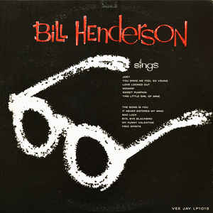 Bill Henderson ‎– Sings With Booker Little- VG 1959 Mono USA Original Press - Jazz