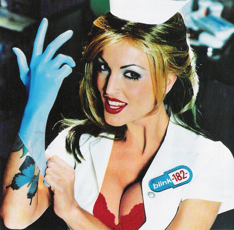 Blink 182 - Enema of the State - New Vinyl Record 2016 SRC Limited Edition Gatefold Reissue on Blue-Vinyl - Punk / Pop-Punk