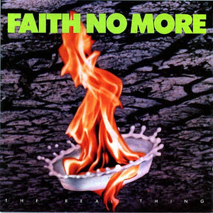 Faith No More - The Real Thing (Deluxe 2LP Reissue) - New Vinyl Record 2015 Slash Records - Includes Bonus LP w/ Rare Tracks & Live 1990 Versions - Alt Rock
