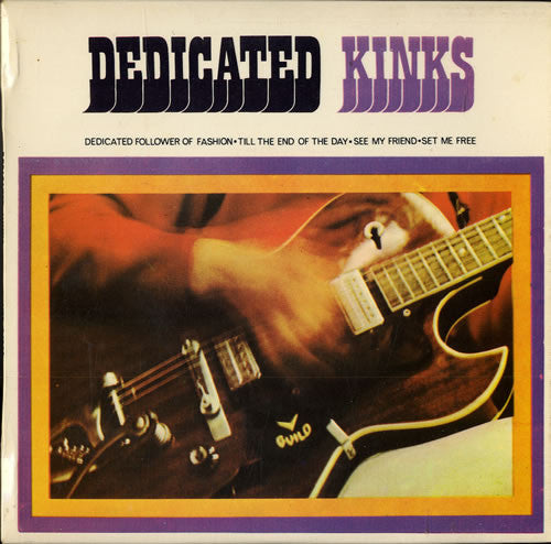 "The Kinks - Dedicated Kinks - New Vinyl 2015 Record Store Day Black Friday 7"" EP Limited to 3,500 Copies"