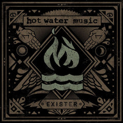 Hot Water Music - Exister - New Vinyl 2012 Rise Records Limited Edition 2nd Pressing on Clear Vinyl Limited to 1500 (opened to verify color, unplayed, untouched) - Punk / Post-Hardcore