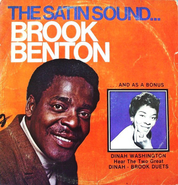 Brook Benton - The Satin Sound... (featuring Dinah Washington) VG+ 2LP SMI - Soul / Jazz