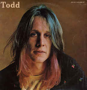 Todd Rundgren ‎– Todd - VG+ 1974 USA 2 Lp Set (WIth HUGE Poster) - Rock