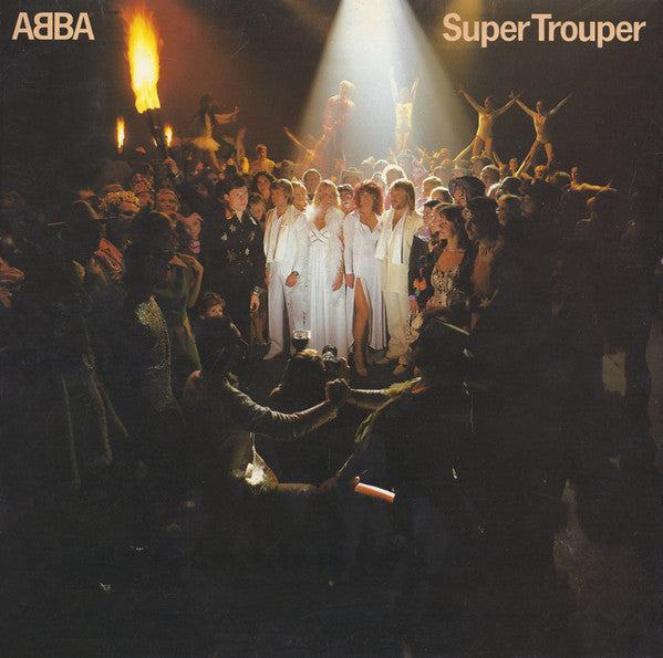 ABBA ‎– Super Trouper - Mint- Stereo 1980 USA Original Press - Disco / Pop