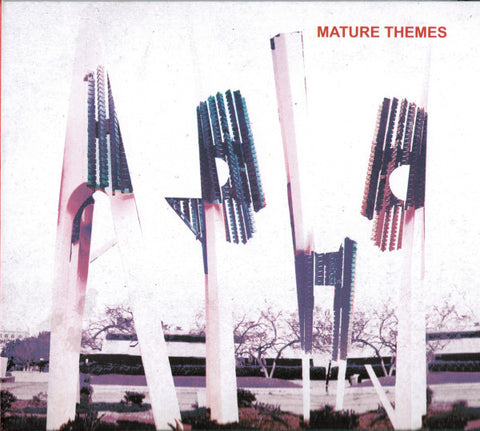 Ariel Pink's Haunted Graffiti ‎– Mature Themes - New Lp Record 2012 4AD USA Vinyl & Download - Indie Pop / Rock