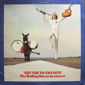 The Rolling Stones ‎– Get Yer Ya-Ya's Out! / In Concert - VG 1970 USA Stereo (Original Press) - Rock