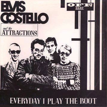 Elvis Costello & The Attractions - Everyday I Play the Boot - Mint- 2-LP  Off Beat Bootleg - B6-006