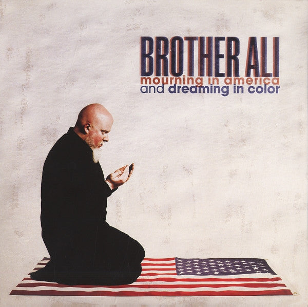 Brother Ali - Mourning In America And Dreaming In Color - New Vinyl Record 2012 Rhymesayers 2-LP Colred Vinyl - Rap / Hip Hop