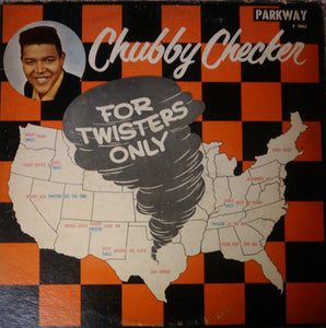 Chubby Checker ‎– For Twisters Only - VG Vinyl Record Mono 1960 (Original Press) USA - Rock