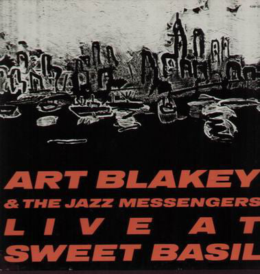 Art Blakey & The Jazz Messengers ‎– Live At Sweet Basil - New Vinyl Record (Vintage 1985) USA - Jazz