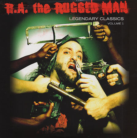 R.A. the Rugged Man - Legendary Classics Volume 1 - New Vinyl Record 2010 Fatbeats USA 2-LP Rap/HipHop
