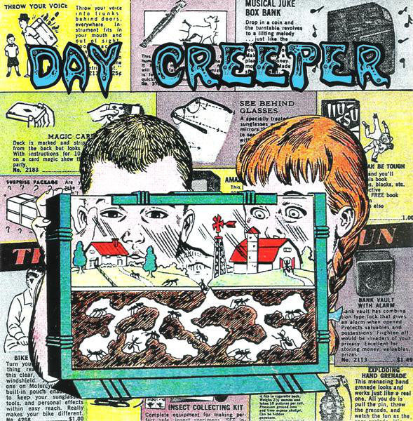 "Day Creeper - Blah EP - New 7"" Vinyl - 2011 Tic Tac Totally! (Chicago Label) - Garage / Lo-Fi"