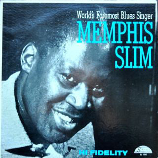 Memphis Slim - World's Foremost Blues Singer - New Vinyl Record - 140 Gram DOL 2014 Import - Blues
