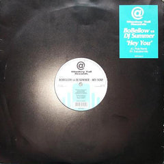 "Bo Bellow vs. DJ Summer – Hey You 12"" Single 1998 Netherlands Import - Trance / House"