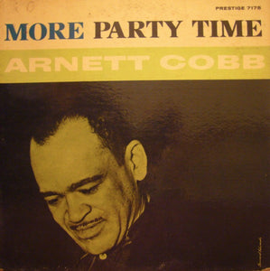 Arnett Cobb ‎– More Party Time - VG- Lp Record 1960 USA DG Mono (Bergenfield NJ Fireworks labels) Original Vinyl - Jazz